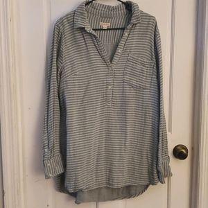Grey/green stripped Tunic